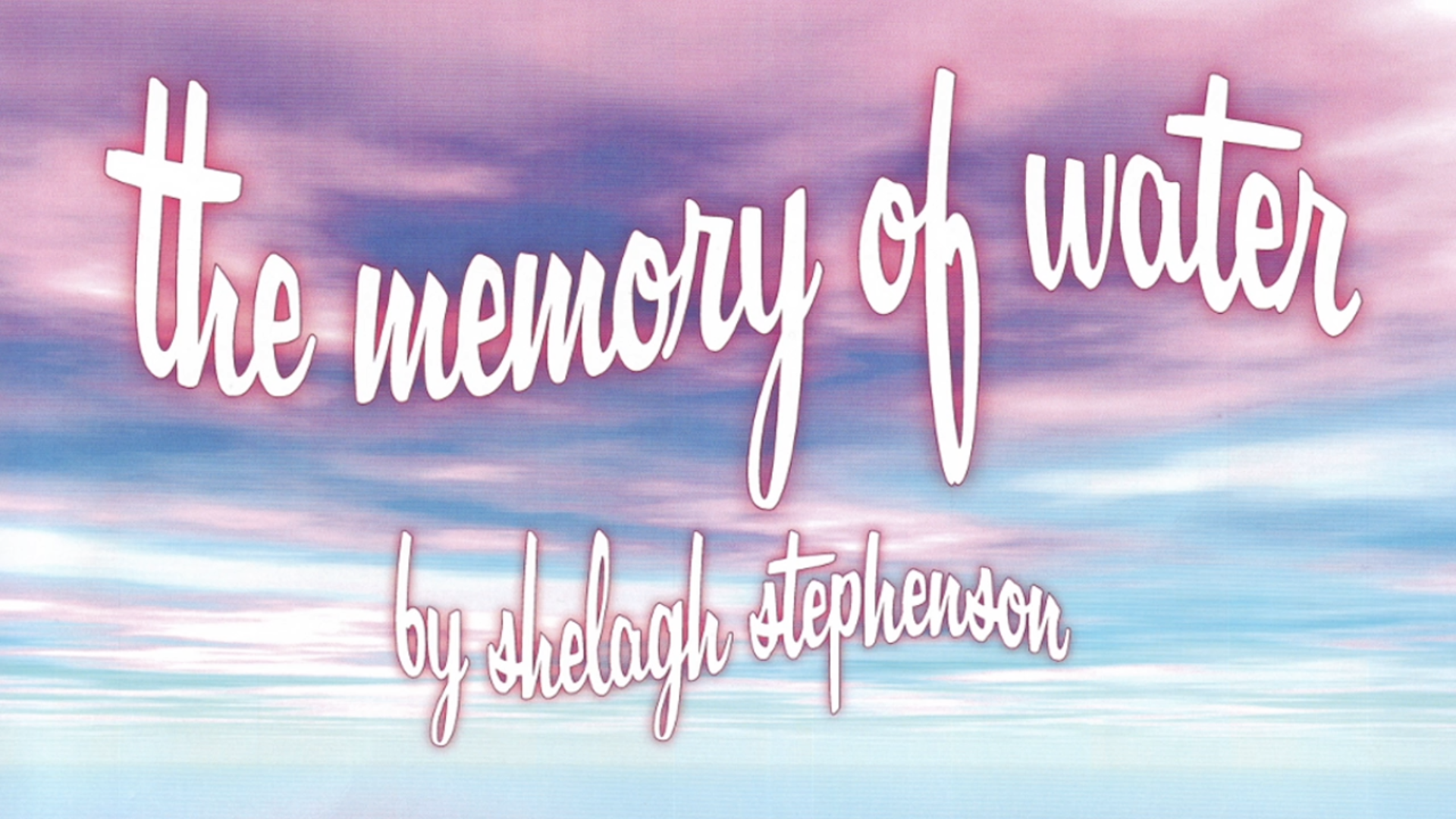 The Memory of Water – AFD