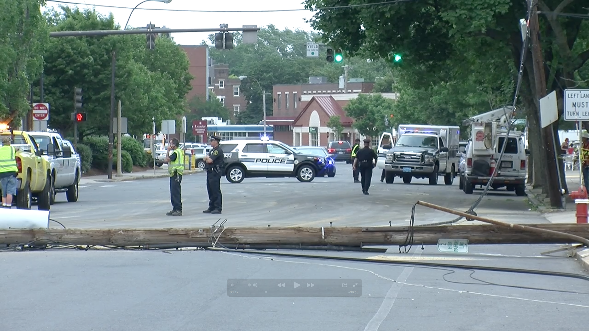 Poles Down – Mass Ave