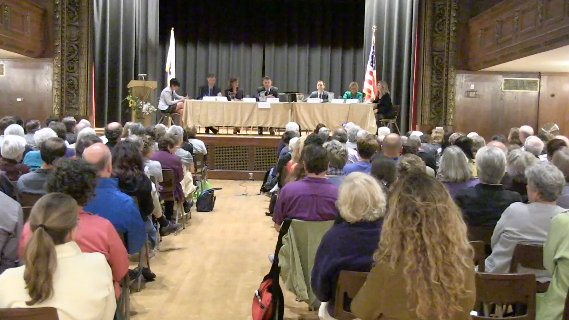 Candidate Forum at Town Hall – Sept 26, 2013