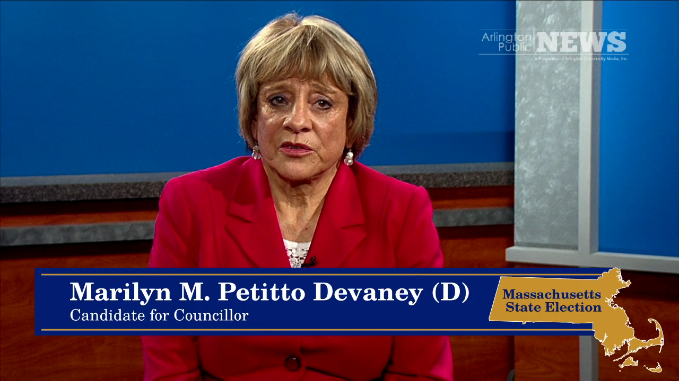 2014 State Election – Councillor: Marilyn M. Petitto Devaney (D)