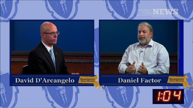 2014 State Election – Secretary of State Debate: David D'Arcangelo and Daniel Factor