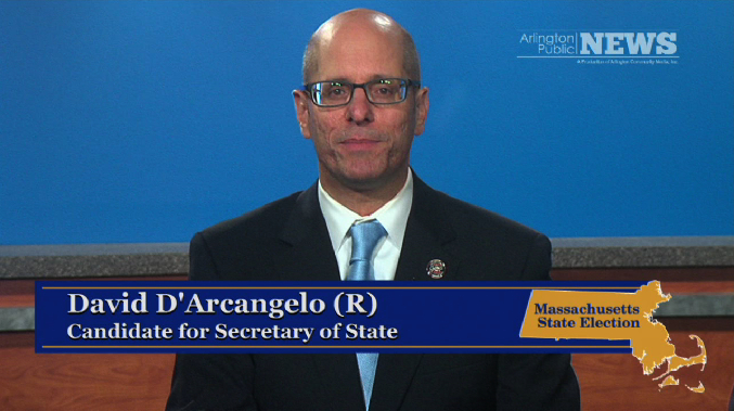2014 State Election – Secretary of State: David D'Arcangelo (R)