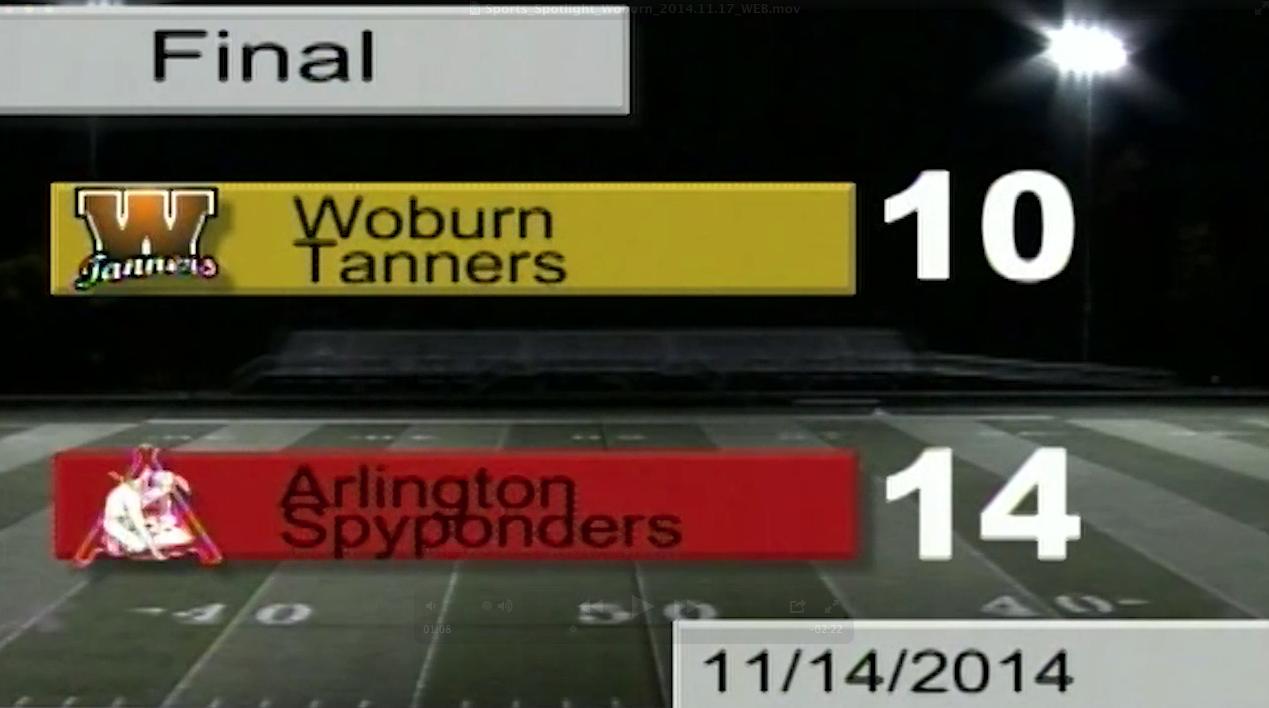 Sports Spotlight: Football – November 14, 2014
