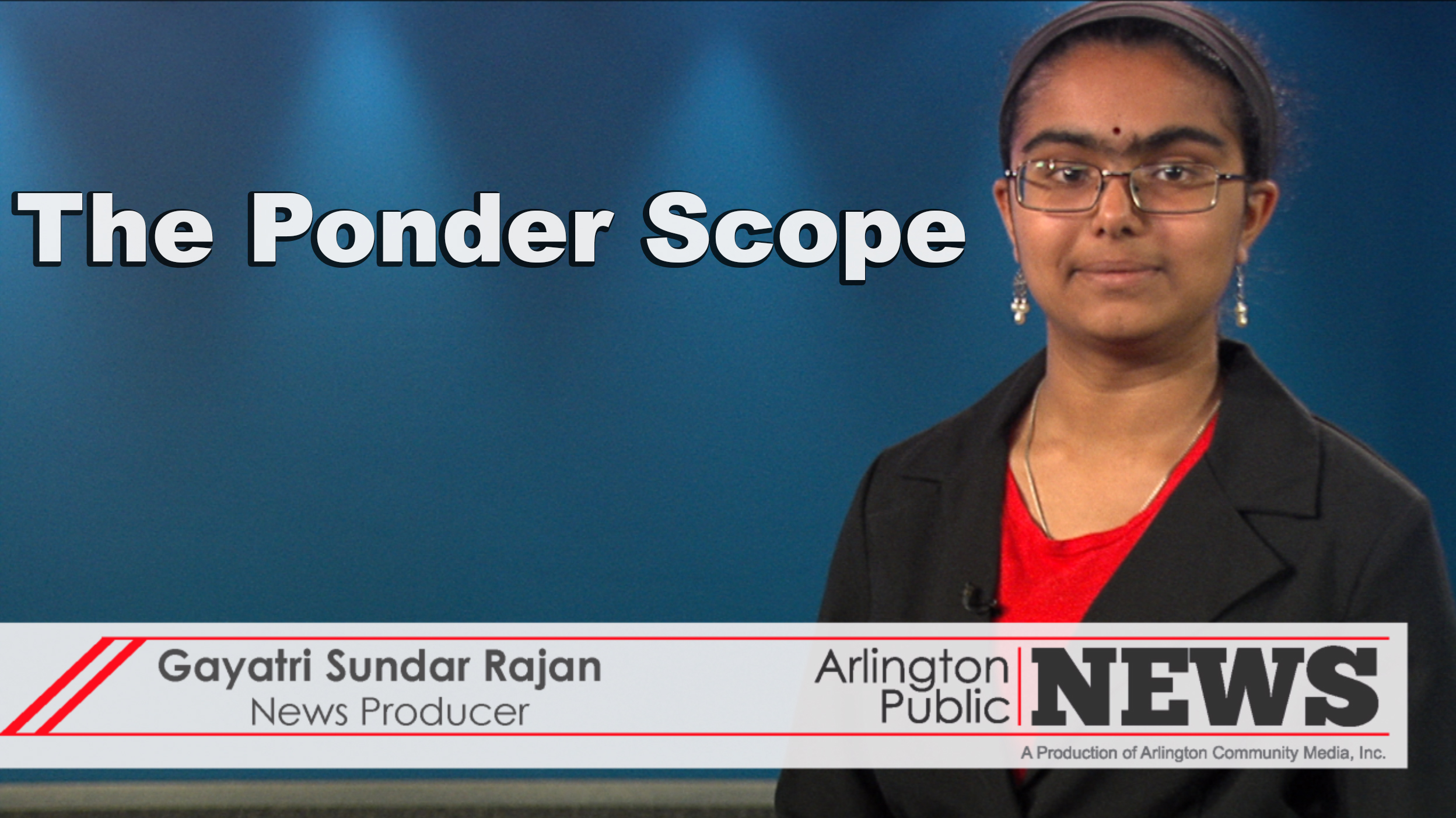 The Ponder Scope | MCAS Scholarships
