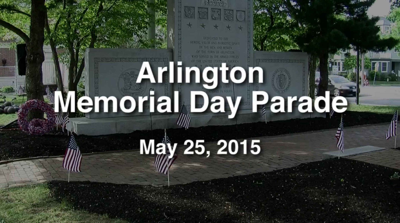 Arlington Memorial Day Parade – May 25, 2015