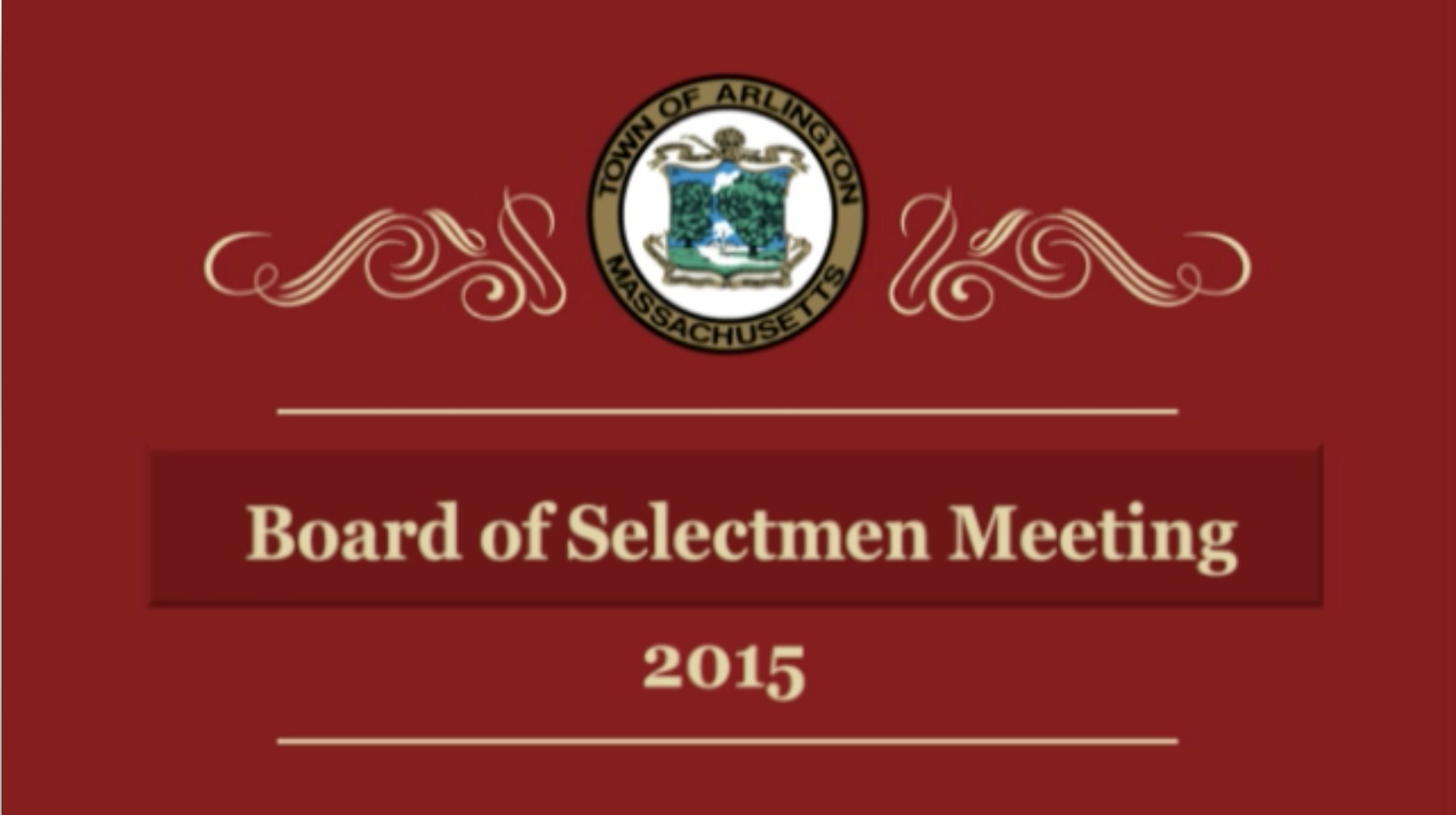 Selectmen Meeting – June 29, 2015