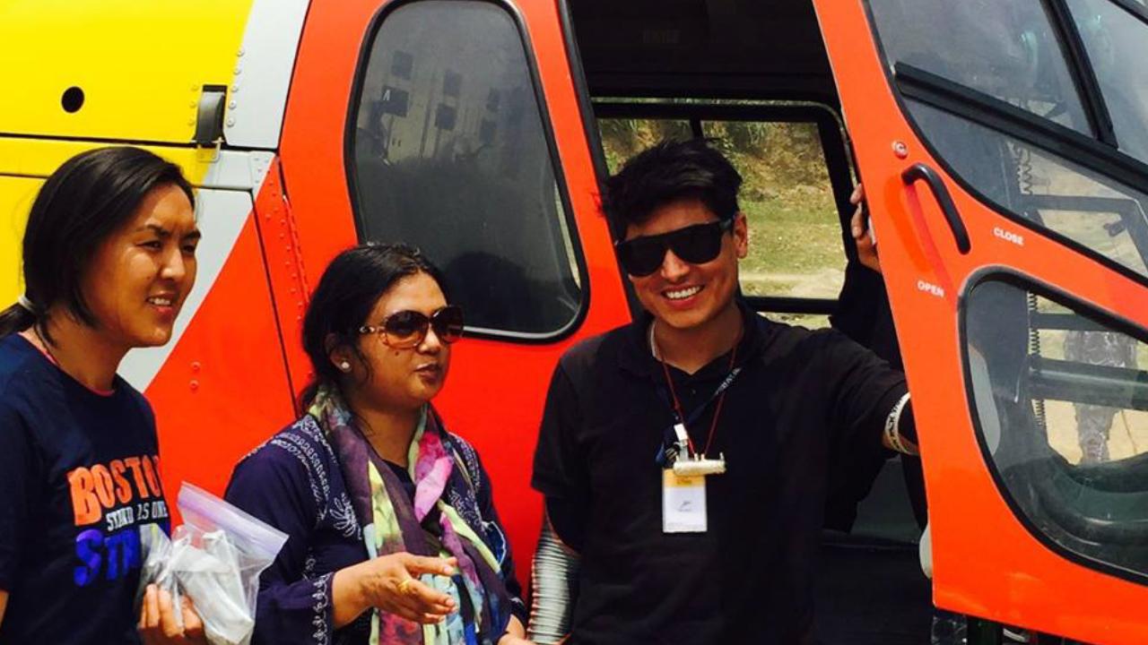Nepali Pilot Subek Shrestha