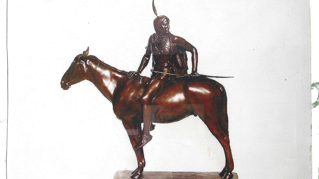 """On the Warpath"", a Restored Dallin Sculpture"