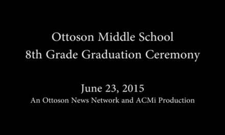 Ottoson Middle School 8th Grade Graduation Ceremony – June 23, 2015