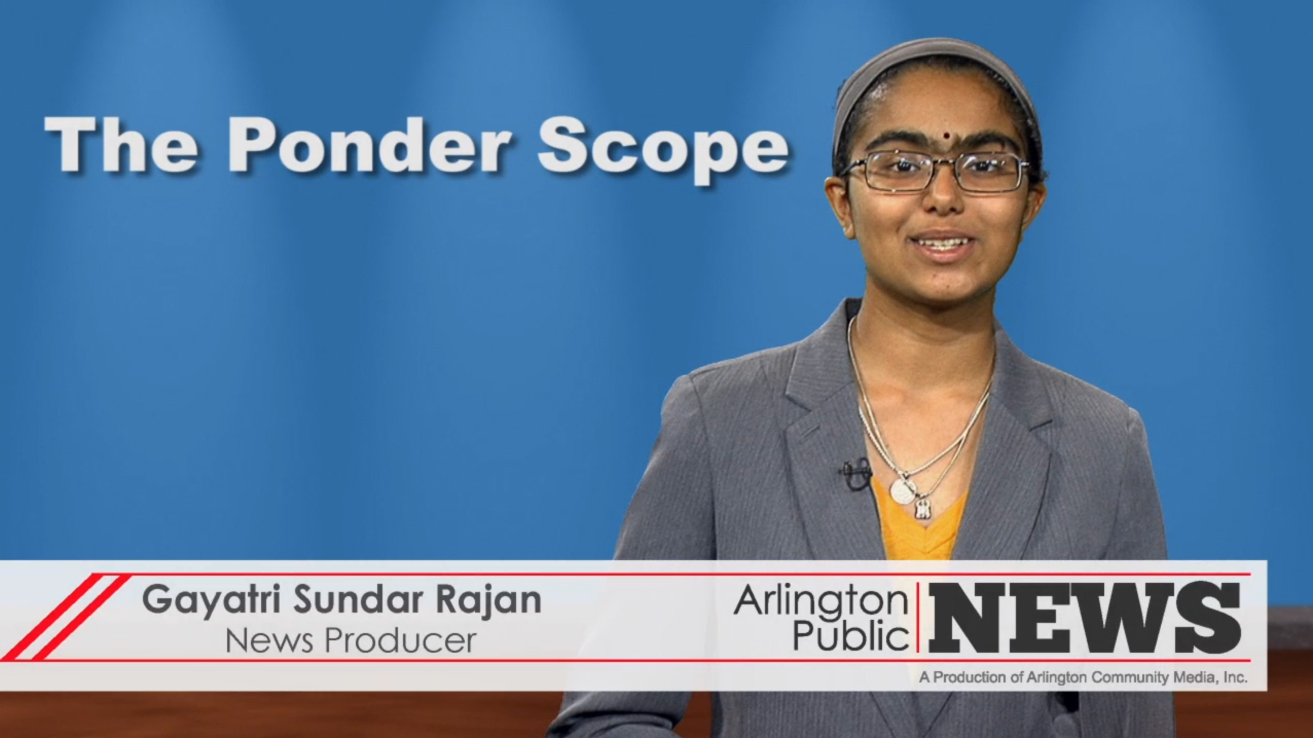 The Ponder Scope | August 26, 2015