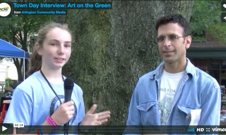 Town Day Interview: Art on the Green