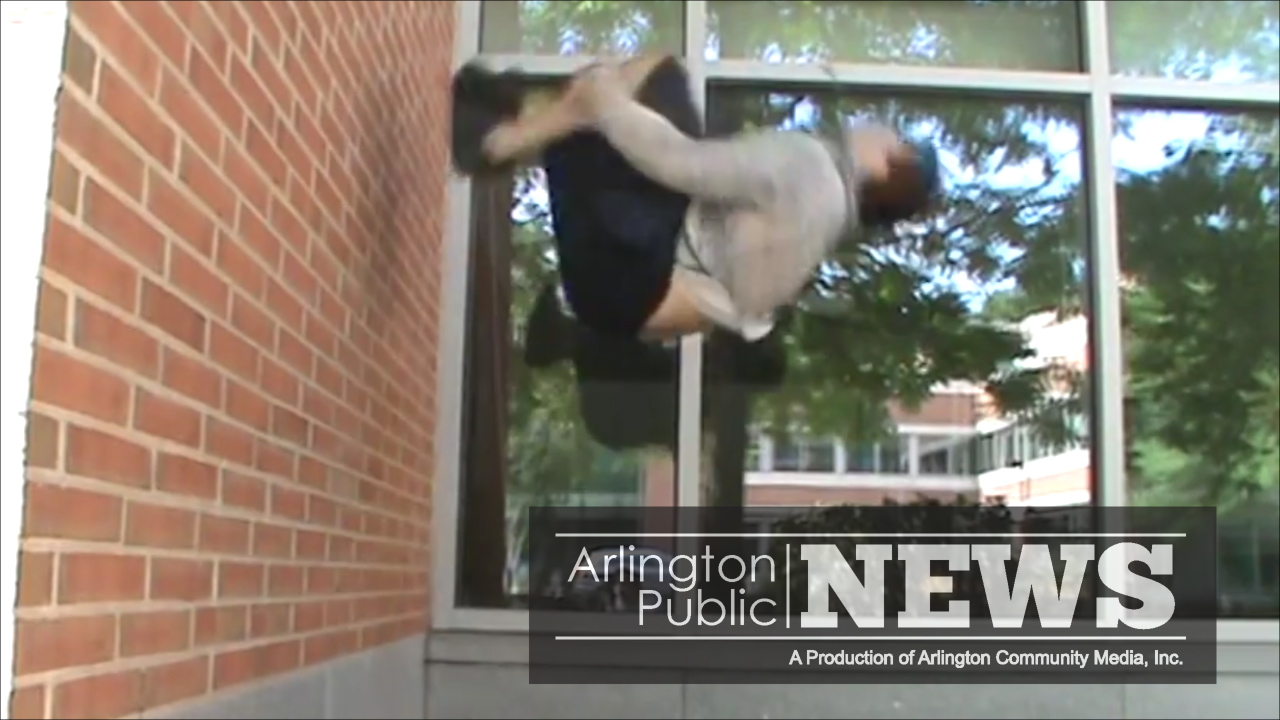 Parkour in Arlington
