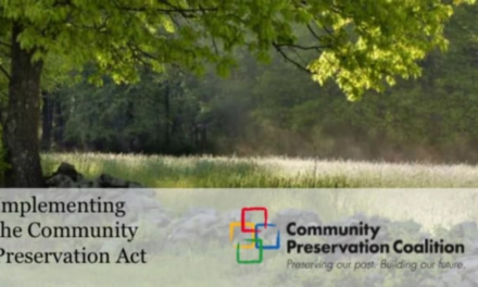 Community Preservation Act Training Session – November 16, 2015