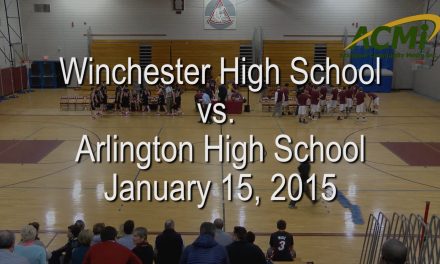 AHS Varsity Boys Basketball vs Winchester – January 15, 2016