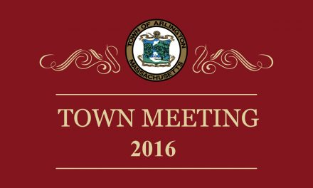 Special Town Meeting – January 25, 2016