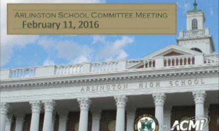School Committee Meeting – February 25, 2016