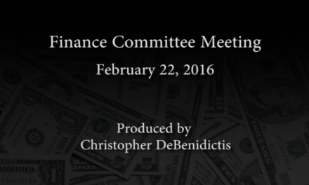 Finance Committee Meeting – February 22, 2016