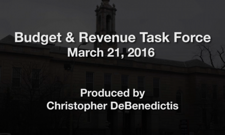Budget & Revenue Task Force – March 21, 2016