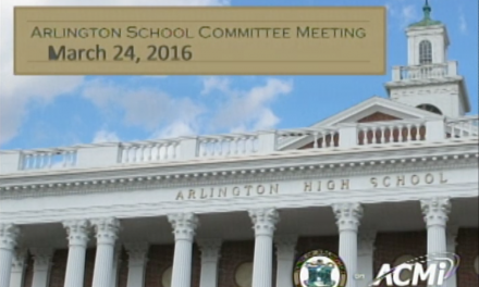 School Committee Meeting – March 24, 2016