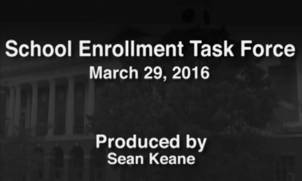 School Enrollment Task Force – March 29, 2016