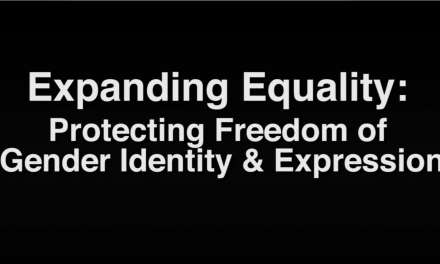 Expanding Equality: Protecting Freedom of Gender Identity & Expression