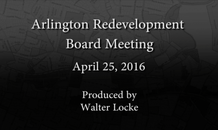 Redevelopment Board Meeting – April 25, 2016