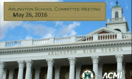 School Committee Meeting – May 26, 2016