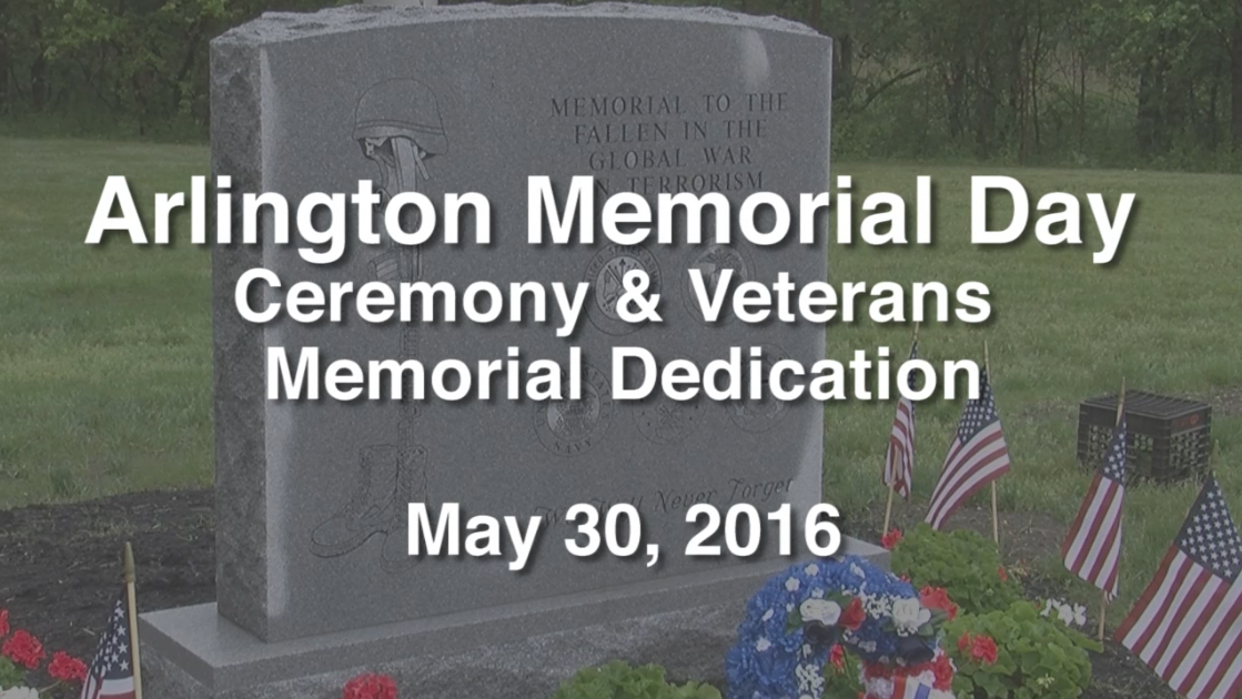 Memorial Day Ceremony & Veterans Memorial Dedication