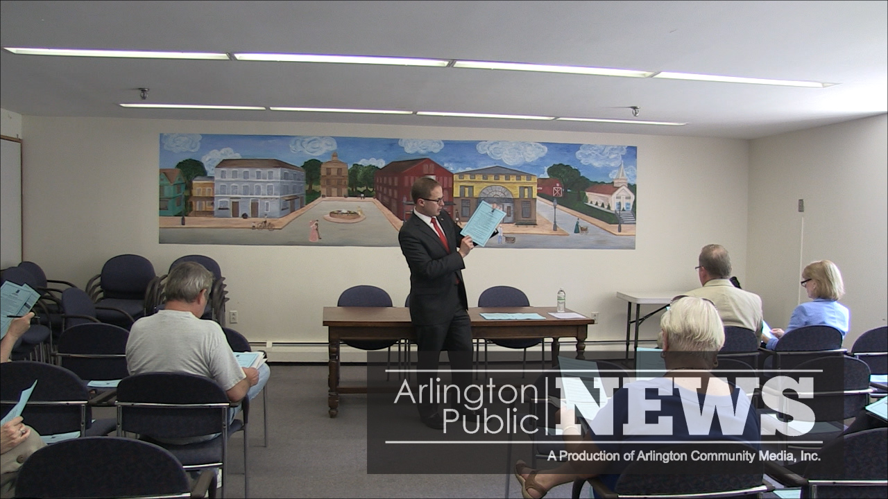 Debt Exclusion Questions presented at Arlington Senior Center