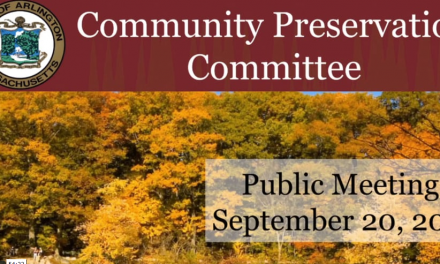 Community Preservation Committee Public Information Meeting