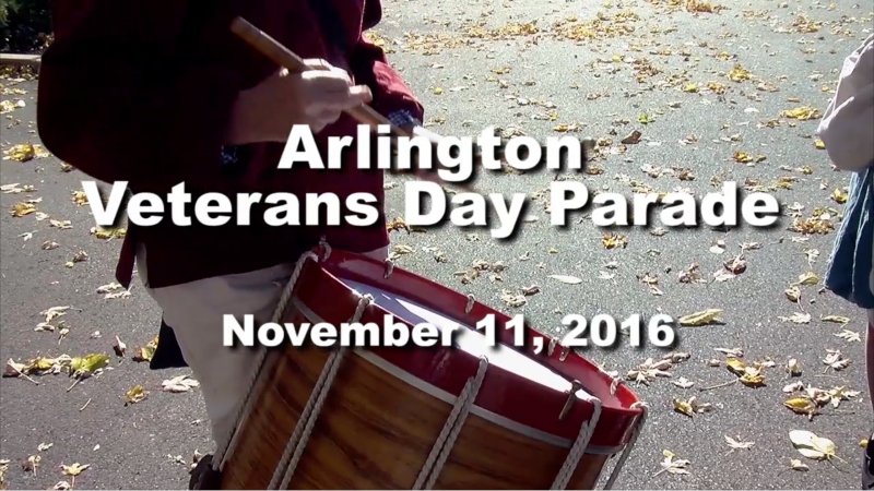 Arlington Veterans Day Parade 2016