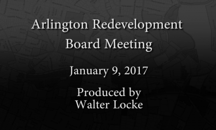 Redevelopment Board Meeting – January 9, 2017