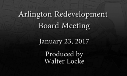 Redevelopment Board Meeting – January 23, 2017