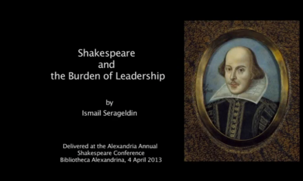 Shakespeare and the Burden of Leadership