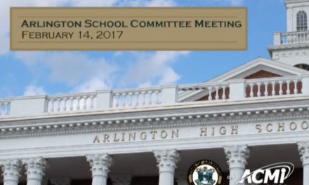 School Committee Meeting – February 14, 2017