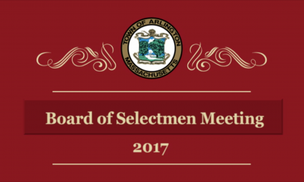 Selectmen Meeting – October 16, 2017