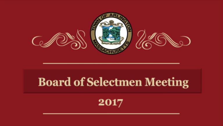 Selectmen Meeting – August 7, 2017