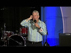 Lenny Clarke does stand-up comedy at The Steve Katsos Show Fourth Anniversary Spectacular