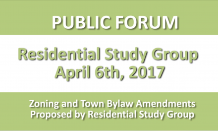 Residential Study Group Public Forum – April 6, 2017