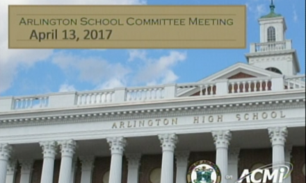 School Committee Meeting – April 13, 2017
