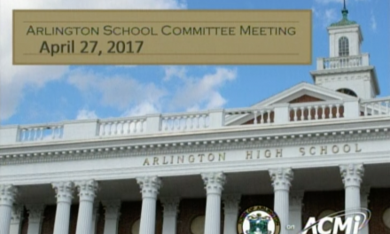 School Committee Meeting – April 27, 2017