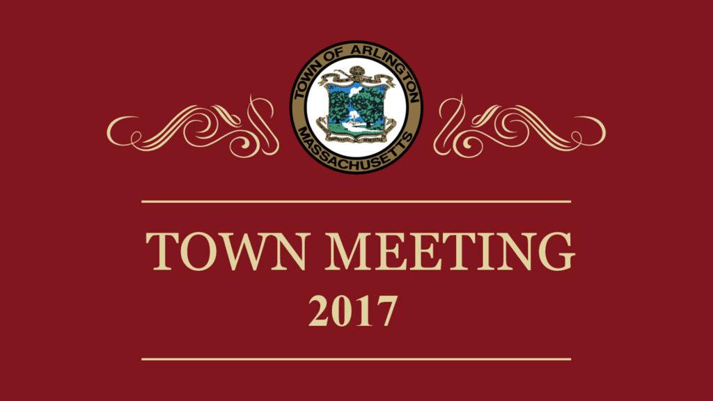 Town Meeting – May 3, 2017