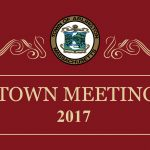 Town Meeting Opens with Full Agenda
