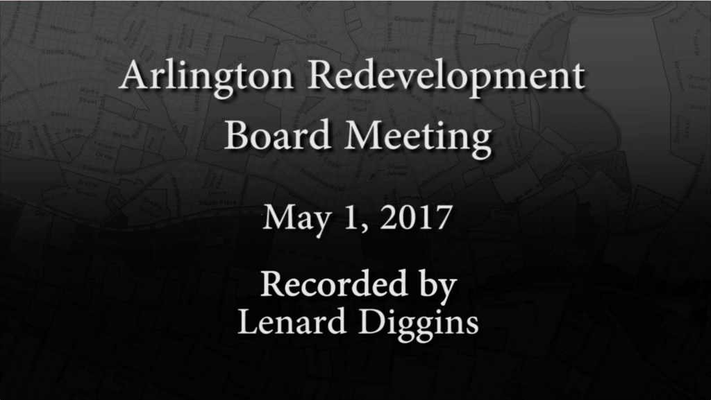 Redevelopment Board Meeting – May 1, 2017