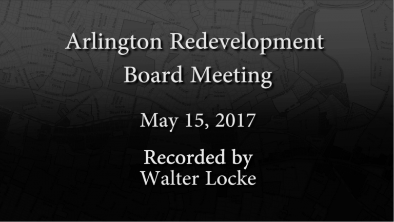 Redevelopment Board Meeting – May 15, 2017
