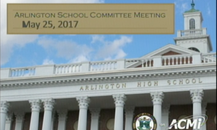 School Committee Meeting – May 25, 2017