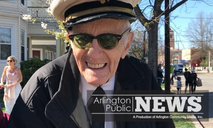 Patriots' Day Profile: 96-Year-Old Tony Barrie