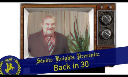Short Film September 2015: Back in 30