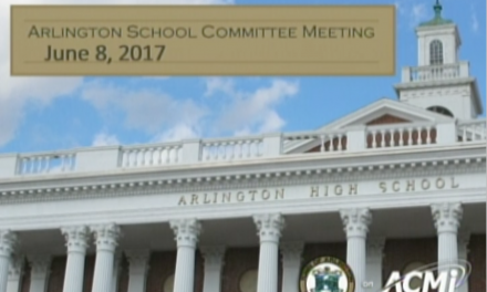 School Committee Meeting – June 8, 2017