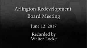 Redevelopment Board Meeting – June 12, 2017